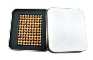 5mm 216PCS/Set Gold Colour Neocube
