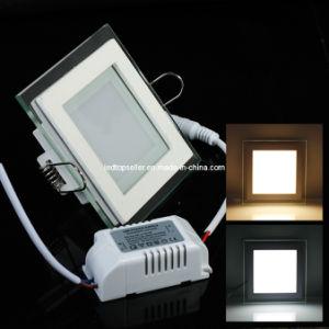 Square 9W/15W/18W High Brightness Glass LED Panel Light (MB0041)
