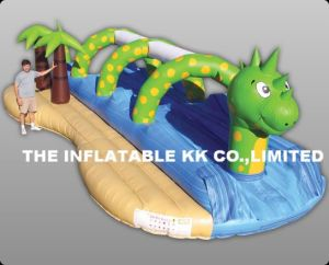 Inflatable Long Water Slide (7SW-007)
