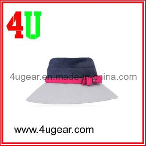 2013 Women′s Fashion Straw Bucket Hat