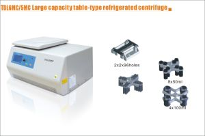 Large Capacity Refrigerated Centrifuge (TDL6MC) with CE &ISO 13485 Certification