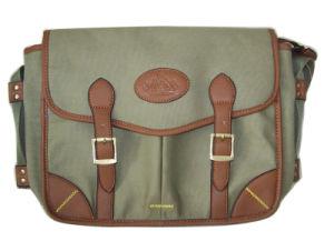 Nylon and Imitation Leather Cartridge Bag