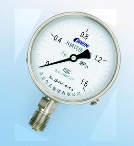 Stainless Steel Pressure Gauge Y-100H