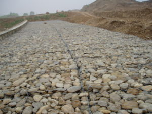Gabion Box /Gabion Cage Use for Road Building Hot Sale pictures & photos