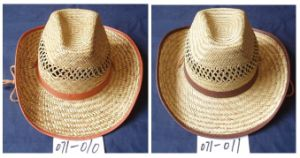 Mat Straw Hat Cowboy Hat pictures & photos