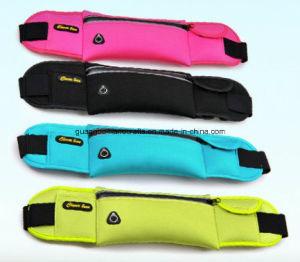 Custom Promotional Durable Nylon Sports Gym Waist Belt Bag pictures & photos