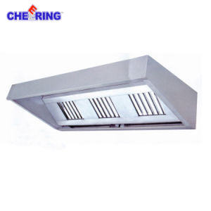 Canpy Commercial Restaurant Stainless Steel Range Hood pictures & photos