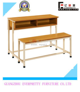 Back to School Set Popular in Africa Double Desk Bench pictures & photos