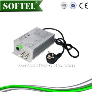 2-Ways Indoor FTTH Fiber Optic Mini Receiver (SR802) pictures & photos