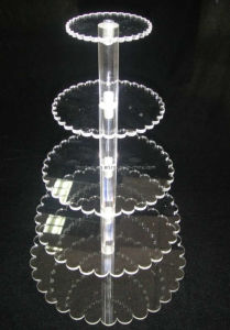 Modern Plastic 5-Tier Cake Stand (FD-A-0138)