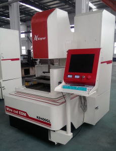 CNC EDM Wire Cutting Machine with Servo Motor and Big Taper pictures & photos