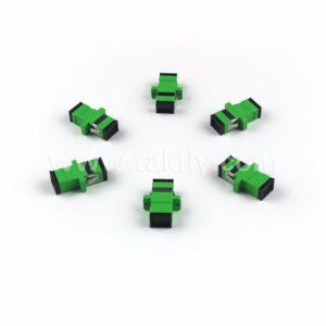 Fiber Optical Sc APC Singlemode Simplex Optic Adapter pictures & photos