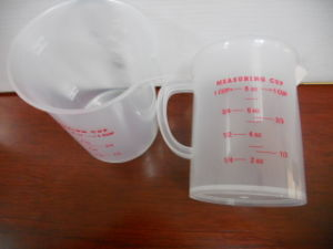 50ml, 100ml, 250ml, 500ml, 1000ml, 1l Measuring Cups