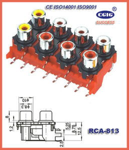 Rca Jack/ Plug (RCA-813)