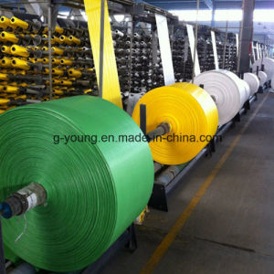 Colourful Tubular PP Woven Fabric pictures & photos