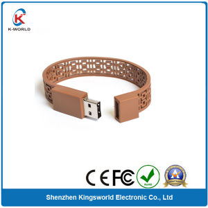Newest 8GB Silicon Bracelet USB Flash Drive pictures & photos