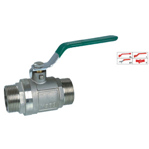 Brass Ball Valve (BV-1015) with Steel Handle pictures & photos