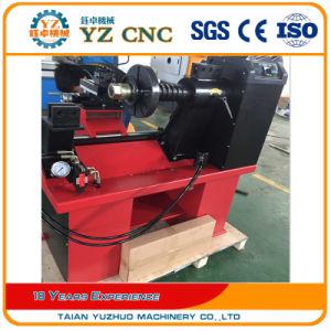 Hydraulic Wheel Rim Straightening Machine with Lathe pictures & photos