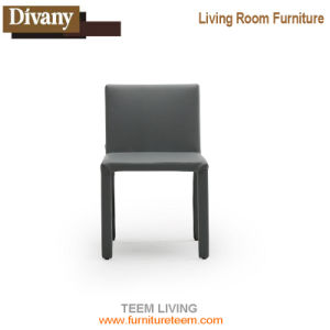 Wholesale Modern Design PP Plastic Dining Chair with Leather Cushion pictures & photos