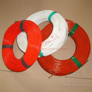 Silicone Rubber Insulation Fiberglass Sleeve 2751 pictures & photos