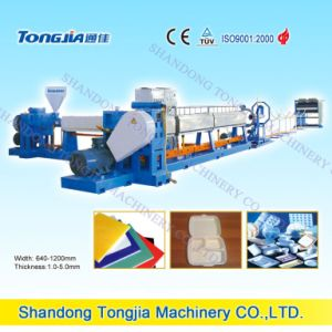 PS Foamed Foaming Kt Board Production Line Extrusion Extruder Machine pictures & photos