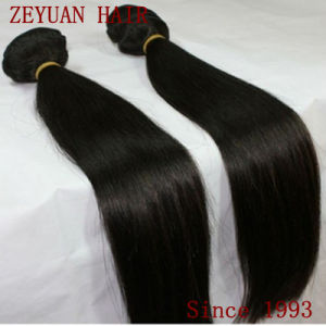 Straight Virgin Brazilian Human Hair Weft pictures & photos