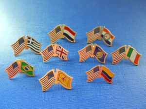 National Flag Lapel Pin, Flag Badge (GZHY-NB-005) pictures & photos