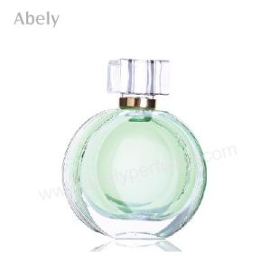 Round Designer Perfume Bottle with Pattern for Original Perfume pictures & photos