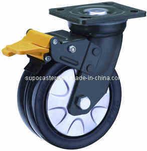 New 17 Series Heavy Duty Nylon Twin Wheel