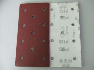 Sanding Sheet with 11 Holes (velcro or PSA)