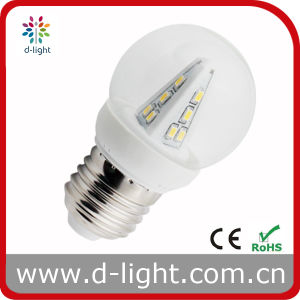 G45 2W E27 Plastic Round LED Lamp pictures & photos