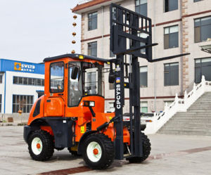 China Small off Road Forklift pictures & photos