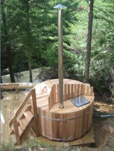 Wooden Hot Tub/Wood Fired Hot Tub (RWHA-7X3)