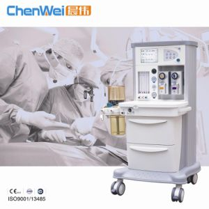 CE Marked General Portable Anesthesia Machine Cwm-302 pictures & photos
