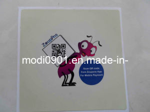 Sticker with Qr Code pictures & photos