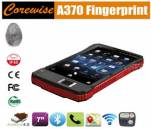 Rugged Wireless Fingerprint Reader with Barcode Scanner, Android Tablet PC pictures & photos