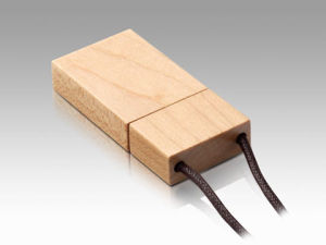 OEM Wooden USB Flash Drive 100% Full Capacity