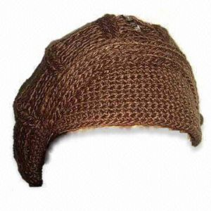 Women′s Knitted Fashionable Hat (HYK-08-0005)