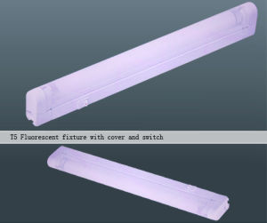 Fluorescent Fixture (T5 with Cover and Switch)