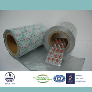 ISO9001 Certified Ptp Aluminum Foil for Pharmaceutical Packaging Tablets 8011 H18 pictures & photos