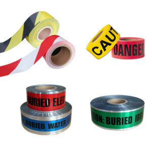High Quality Red and White Caution Tape pictures & photos