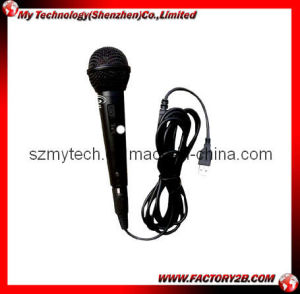 Wired Microphone for PS2/PS3/Wii/PC/xBox360 (MY-MG038)