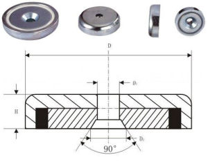 Neodymium Pot Magnet pictures & photos