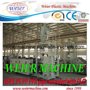 PPR PE Pipe Machine / Plastic HDPE Pipe Equipment pictures & photos