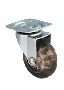 Transparent Industrial Caster W/O Brake (60503) pictures & photos