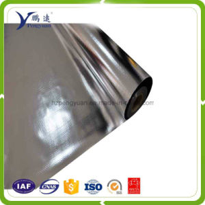 Double Sides Aluminized Film PE Woven Fabric High Strength Pallet Cover pictures & photos