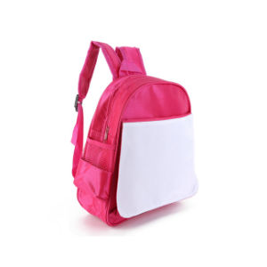 2016 Wholesale Red Blue Color Sublimation Fashionable School Bags for Kids pictures & photos