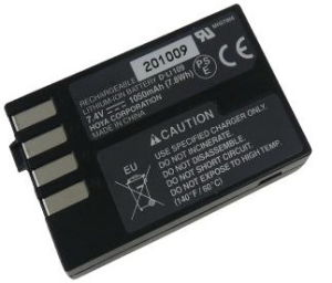 Rechargeable Replacement Digital Camera Battery for Pentax K-R with UL Listed Cell