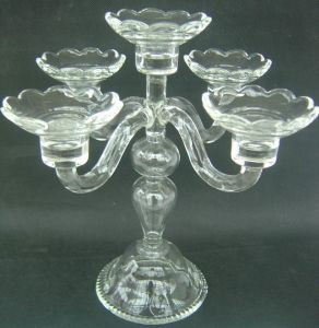 Clear Glass Candle Holder with Five Posters, , ., pictures & photos