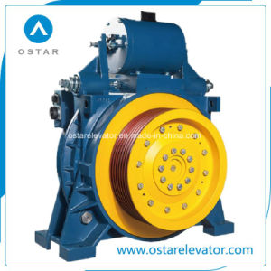 Elevator Parts, Elevator Gearless Traction Machine, Montanari Elevator Motor pictures & photos